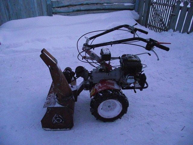 Мотокультиватор снегоуборщик своими руками