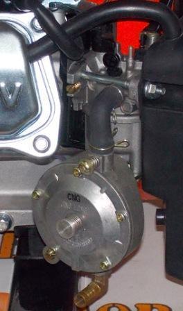 Переоборудование бензинового генератора на газ