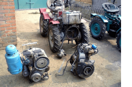 мотор для мототрактора